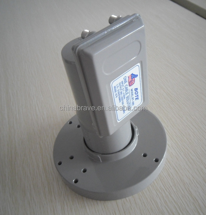 3.7-4.2 GHz C band universal LNB twin/ dual output
