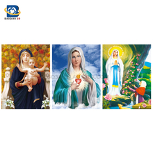 Christian Blessed Virgin Mary 3d lenticular picture posters printing