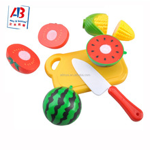 Happy Kitchen Toys Plastic Play Food Fruit for Children