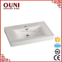 ON-3011 (900) Hot sale new model bathroom white ceramic mini lavabo