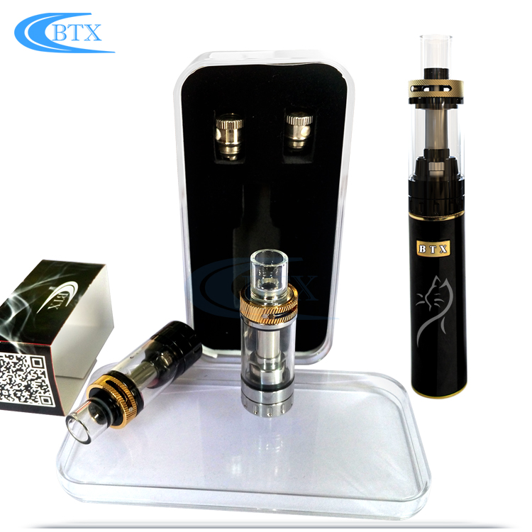 Wholesale custom logo vape cartridge evod vaporizer pen Glass Empty atomizer pen kit