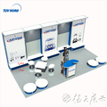 Detian Offer exhibition booth display stand booth stand portable trade show booth tradeshow display