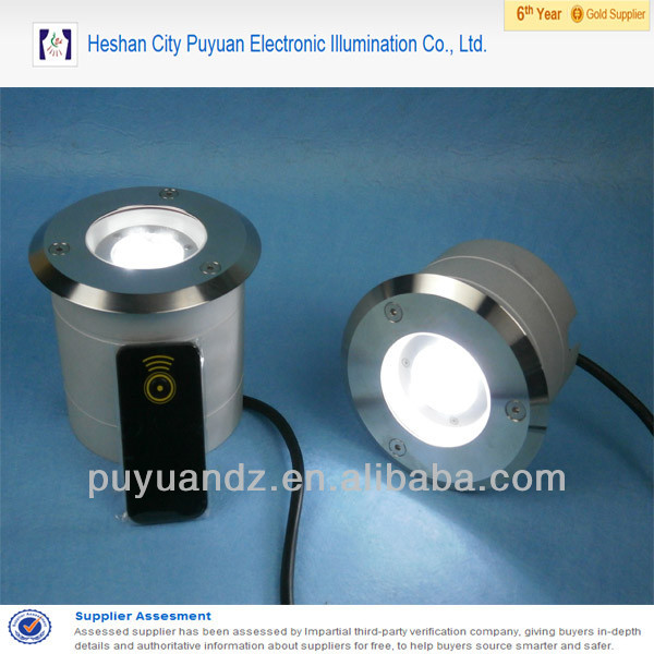 4W in ground light/ground level lighting/ground row light
