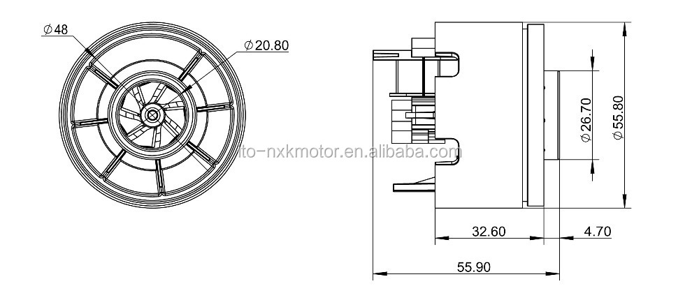 24v Dc Brushless Vacuum Cleaner Motor Brushless Dc Vacuum