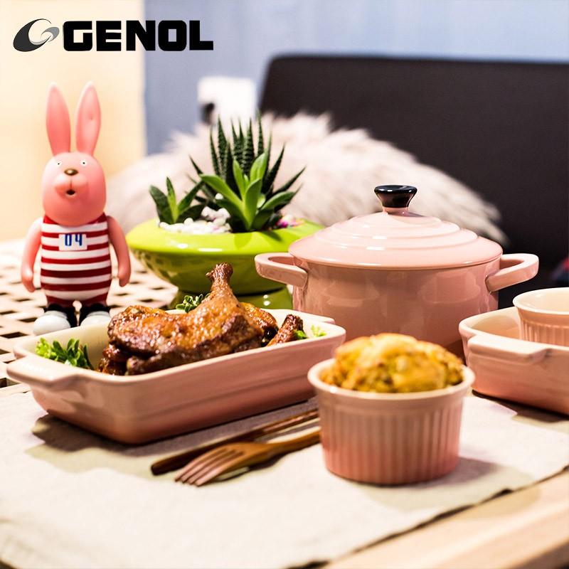 china colorful ceramic dinner set bakeware sets for kids - Bakeware Sets