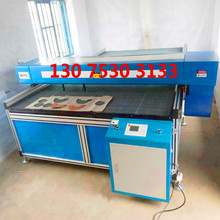 leather shoes laser cutting machine double head
