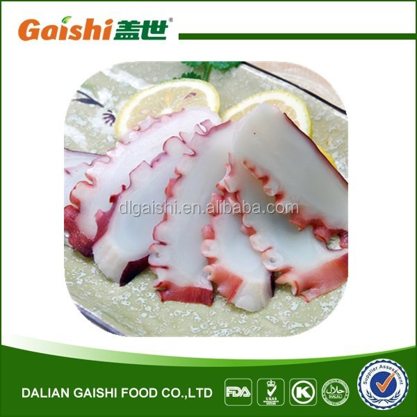 FROZEN COOKED OCTOPUS SLICE FOR SALE