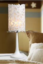 Acrylic study warm bedroom contemporary and contracted hollow out Chinese style decorative desk lamp