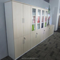 China manufacturer office furniture wood grain filing cabinet