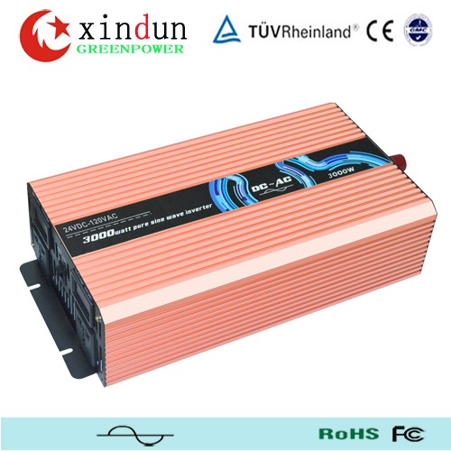 Easy install house use green power pure sine wave dc ac output 24V 2kw solar Inverter