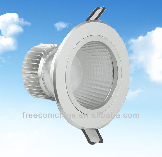 5w aluminum reflector cob led down light casing