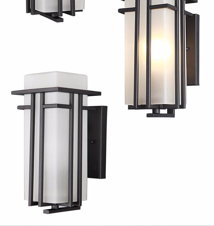 Most Popular outdoor garden IP44 modern wall fancy light