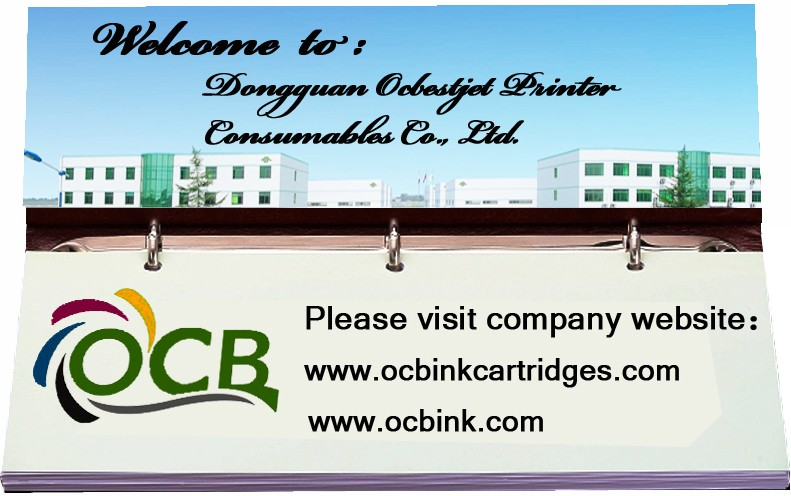Ocbestjet 81 83 Compatible Ink Cartridges For HP 5000 5000PC 5500 5500PS Inkjet Printer