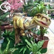 Dinosaur Theme Park Waterproof 3D Animatronic Dinosaur model