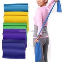 THERA-BAND 5FT INDIVIDUAL LATEX BAND FLAT EXERCISE THERABANDS