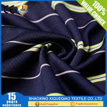 cotton yarn dyed stripe knitted fabric
