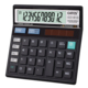 Hot Selling 112 Steps Check Correct Calculator 12 Digits Dual Power Office Desktop Electronic Finance Calculator