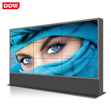 55 inch factory price 3x4 seamless exhibition lcd video wall
