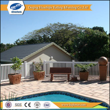 PVC plastic retractable pool fence