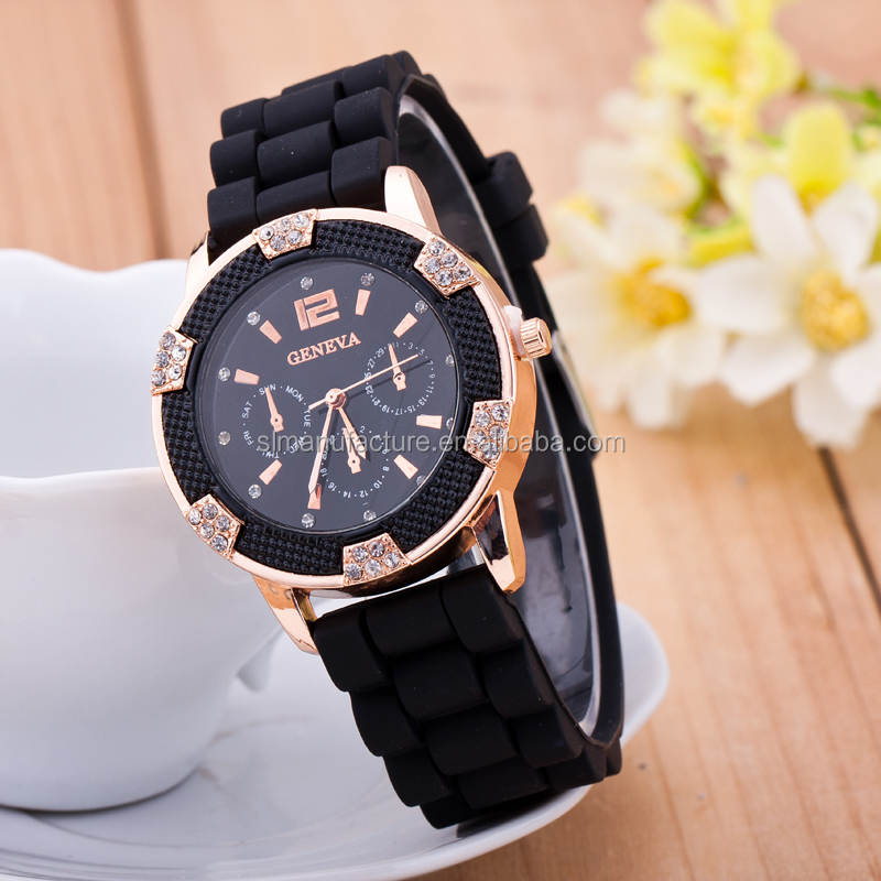 cute gift Fashion Bracelet jelly Sports Digital men Sports Silicon Watch Wrist Watch