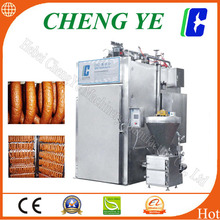 500kg eachTime Smoke Oven Smokehouse for Fish Bacon