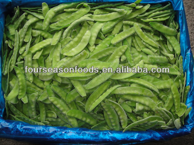 2016 New season frozen pea pods Four Season Foods Co.,Ltd exporting