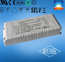400ma ip20 one channel constant current 0/1-10v led driver with plastic case