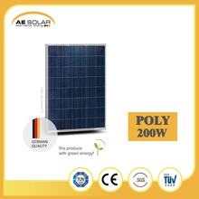 Hot Selling AE P6-48 Series 200W-225W Poly Solar Panel Manufacturer For Home Use