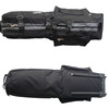 Black Nylong Golf Travel Bag with wheels