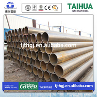 Large Stock API 5L B ERW/LSAW/SSAW sch 10 carbon steel tube
