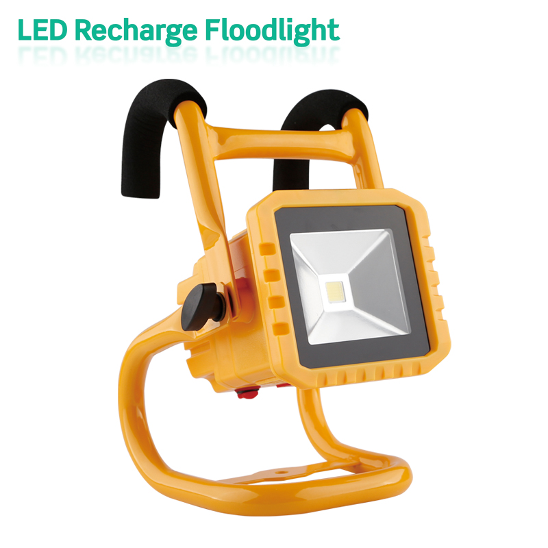 Hot sale 10W 20W 30W 50W portable 10w rechargeable outdoor led flood light with long working time,10w led flood light outdoor