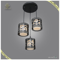 New arrival Modern pendant light fixture for Dining room ,iron and glass shade pendant lamp