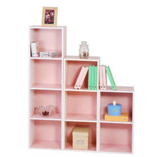 hardworking storage Union Home Office Wall Organizer Shelf/ file open cabinets/ cheap simple bookcase