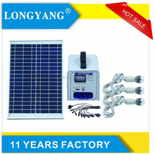 Portable solar power system mobile charging 20w 12v solar pv system for home