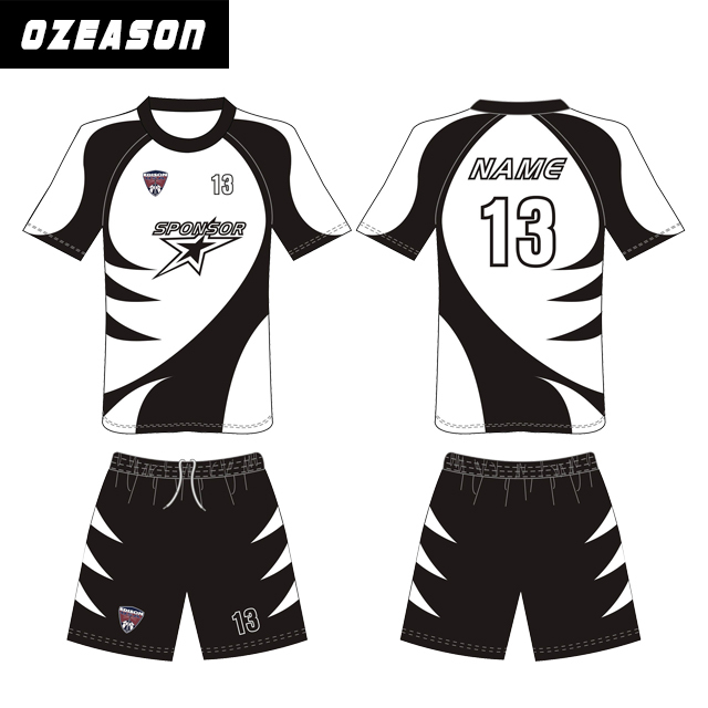 Sublimated Football Jersey top quality Cheap Design Sublimation Reversible Custom Soccer Jersey 2015/2016