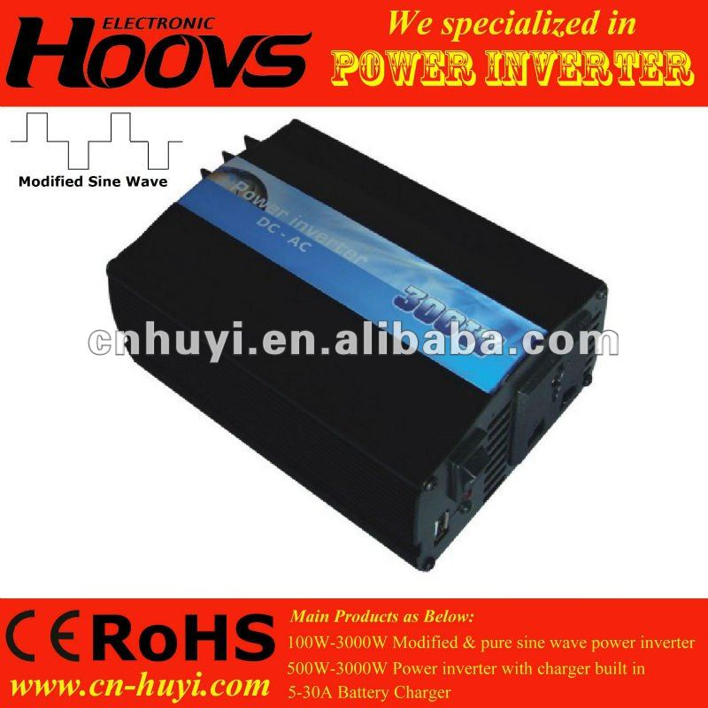 car power inverter with Universal socket 300w inverter