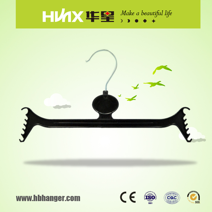 HBK518 China Wholesaler Strong Trouser Coat Hangers For Display With Custom Logo