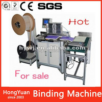 Paper Product Making iron wire book binding machine, hardcover book binding equipment, multi-function photo book binding machine
