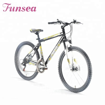 "26""*17"" steel hydraulic shape frame black downhill bike cheap MTB bicycle steel full suspension mountain bikes for sale"