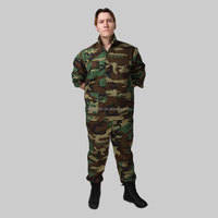 hunting clothes wholesale Woodland camouflage bdu military uniforms