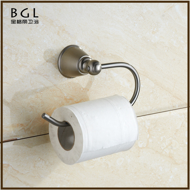 round Brass bathroom design Chrome Toilet Paper Holder,Roll Holder,Tissue Holder Without Cover