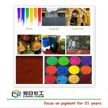 Factory drop iron oxide red H101 120 130 ci77491 for pvc/rubbers/pavers/bricks/coloured mulch