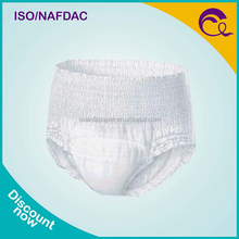 Incontinence Products White Printed Adult Panty elastic Diaper