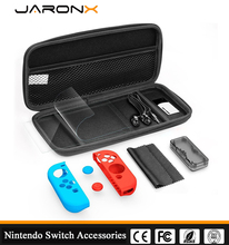 EVA case,card Box,screen protector,silicone grip and Packs for Nintendo Switch