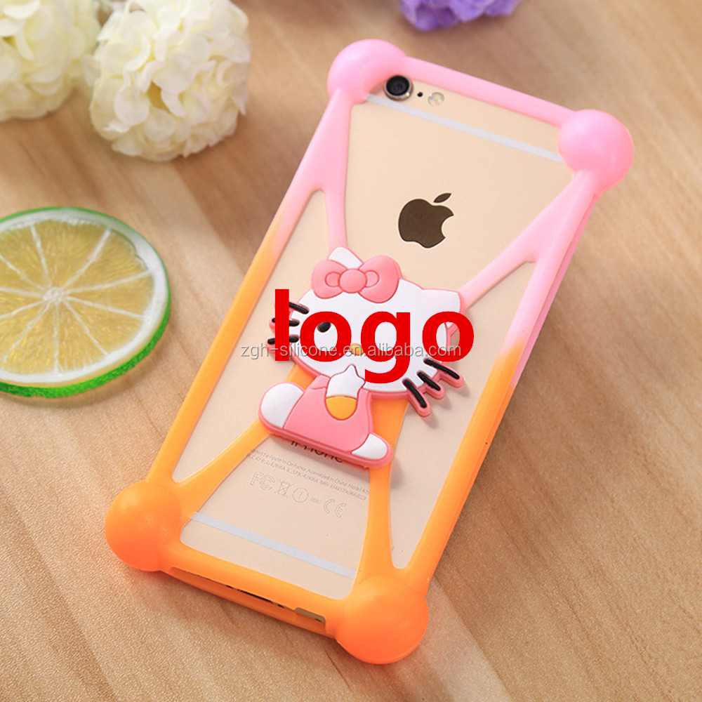 Hottest multifunctional diy silicone cell phone case