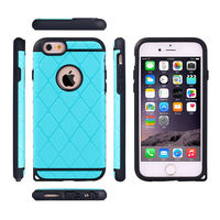 Slim matte tpu+pc shiny case for apple iphone6 cases,covers for iphone 6 slim armor