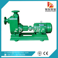 Leather industry sewage pump