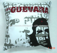 screen printed cotton cushion covers