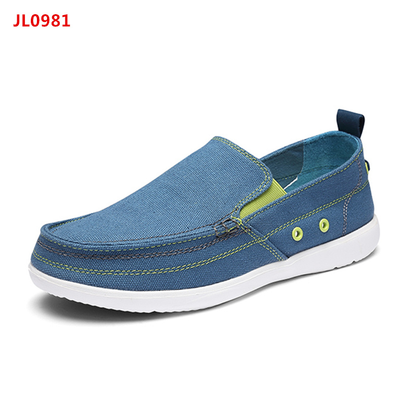 2017 Summer Stylish Men Slip On Breathable Canvas Shoes