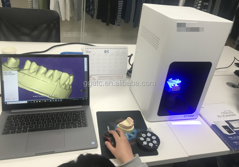 2018 GOGO Hot selling 3d dental scanner with new design
